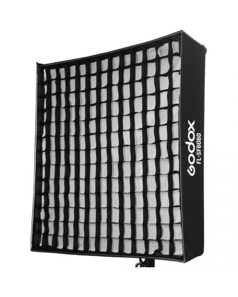 Godox FL-SF6060 Softbox with Grid, Diffuser, Bag for Flexible LED Panel FL150S (FL-SF6060)