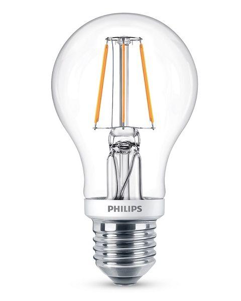 لمبات فيليبس ليد الكلاسيكية ابيض دافئ غير قابلة للخفت 4.5 واط معادل 40 واط  (PHI-929001227967)