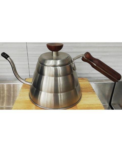 La Barista Coffee Kettle with Wood handle