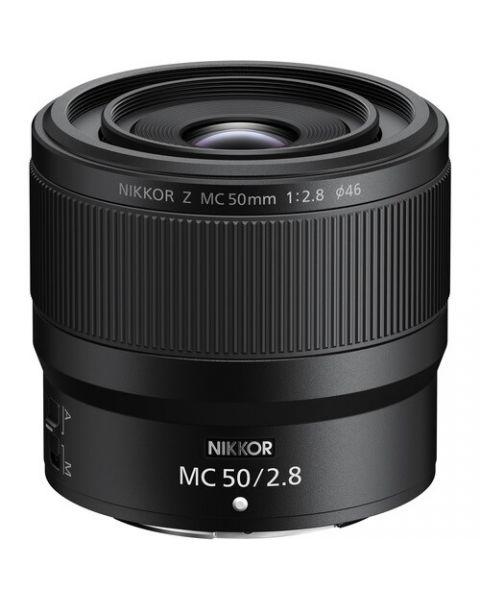 عدسة 50mm f/2.8 نيكون ميرورليس NIKKOR Z MC 50mm f/2.8 Mirrorless Lens