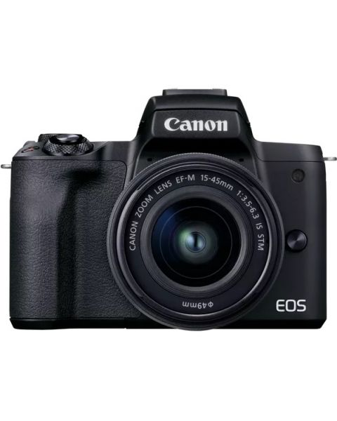 كانون كاميرا EOS M50 Mark II مع عدسة 15-45 مم (EOSM50MK2)