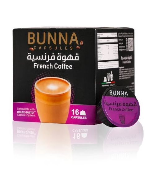 Bunna French Coffee 16 Capsules (BUNNA FRENCH COFFEE)