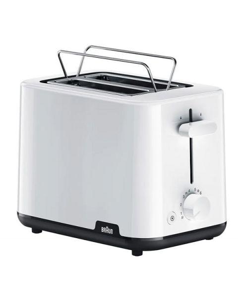 حماصة براون HT 1010 Braun Breakfast Toaster HT 1010 White-front