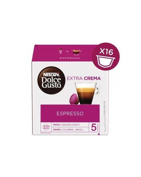 Nescafe Dolce Gusto Espresso Extra Crema, 16 Capsules (ESPRESSO-HC)