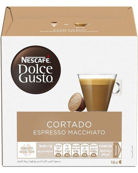 Nescafe Dolce Gusto Cortado 16 Capsules (CORTADO-HC)