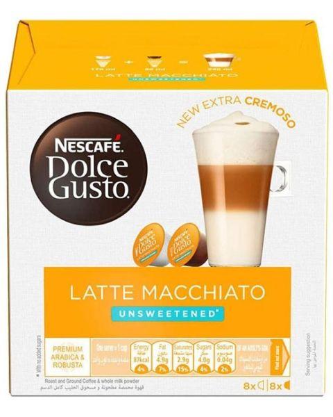 Nescafe Dolce Gusto Latte Macchiato Unsweetened (LATTE MACCHIATO UNSWEET-H)