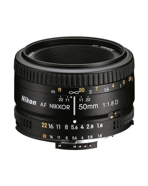 Nikon AF Nikkor 50mm f/1.8D (JAA013DA)