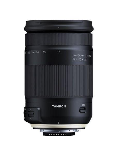 Tamron 18-400mm f/3.5-6.3 Di II VC HLD Lens for Nikon EF (B028N)