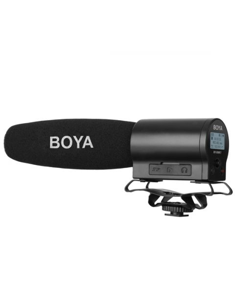 Boya Shotgun Microphone with Integrated Flash Recorder (BY-DMR7)