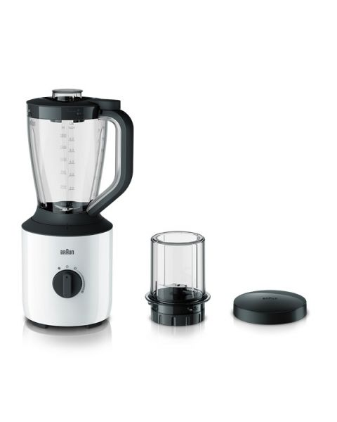 Braun PowerBlend 3 Jug blender with Mill (JB3115WH)