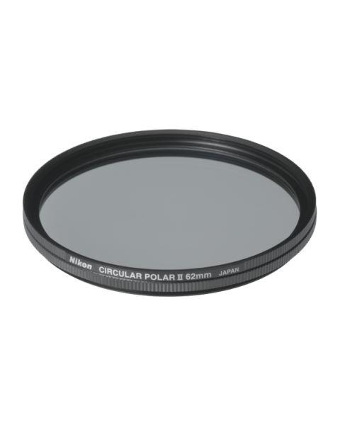 Nikon 62mm Circular Polarizer II Filter (FTA11501)
