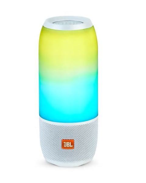 JBL PULS 3 Portable Bluetooth Speaker- WHITE (PULSE3WHT)