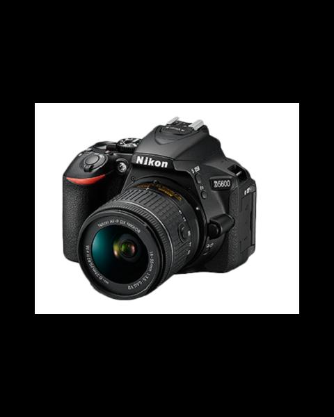 كاميرا نيكون دي 5600 مع عدسة 18-55 مم (VBK500XM) + بطاقه ذاكره 16 جيجابايت + عدسة نيكون 70-300mm