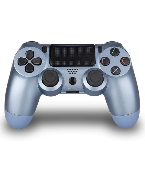 PS4 DualShock4 Controller, Titanium Blue (CUH-ZCT2/TBLUE)