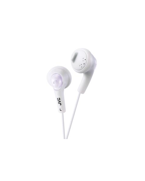 JVC in ear headphones (HA-F160-W-E)