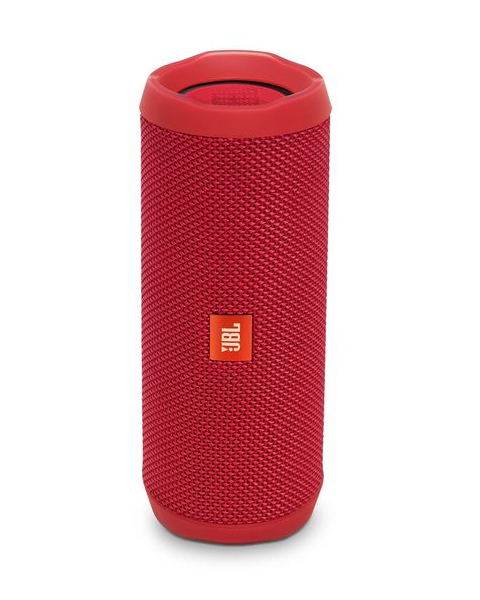JBL Flip 4, Portable Speaker, Bluetooth, Red (FLIP4RED)