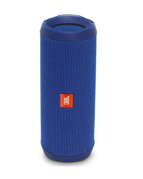 JBL Flip 4, Portable Speaker, Bluetooth, Blue (FLIP4BLU)