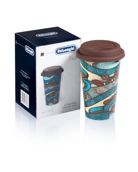Delonghi Thermal Coffee Mug with Cover (5513281021)