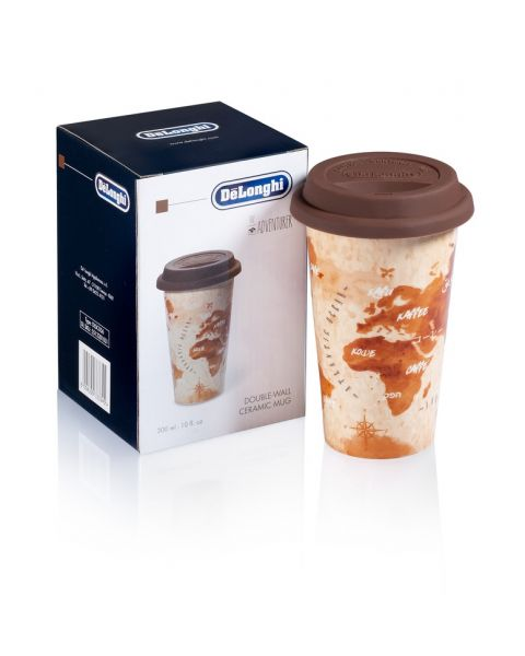 Delonghi Thermal Coffee Mug with Cover (5513281031)