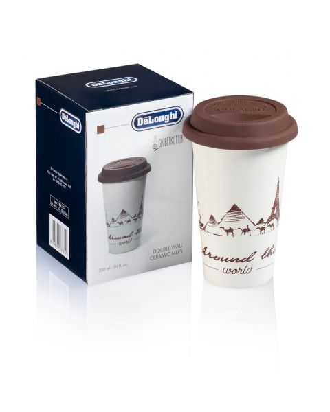 Delonghi Thermal Coffee Mug with Cover (5513281041)