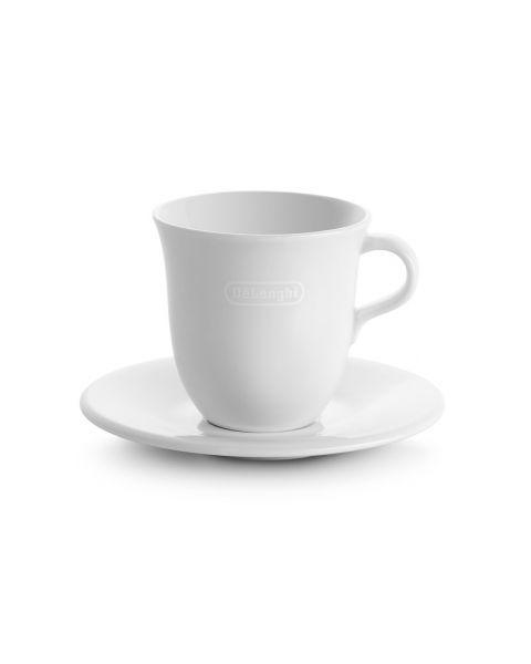 Delonghi 2 Porcelain Cappuccino Cups (5513283731)
