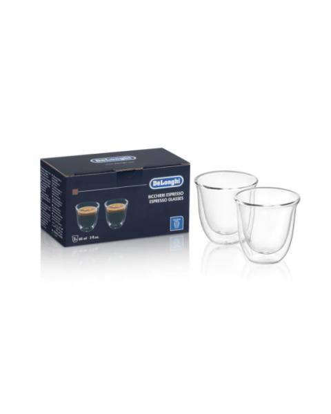 Delonghi 2 Glass Espresso Cups (5513284151)