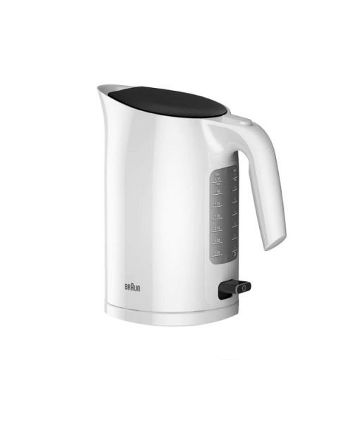 Braun PurEase Water Kettle, White (BRWK3110WH)