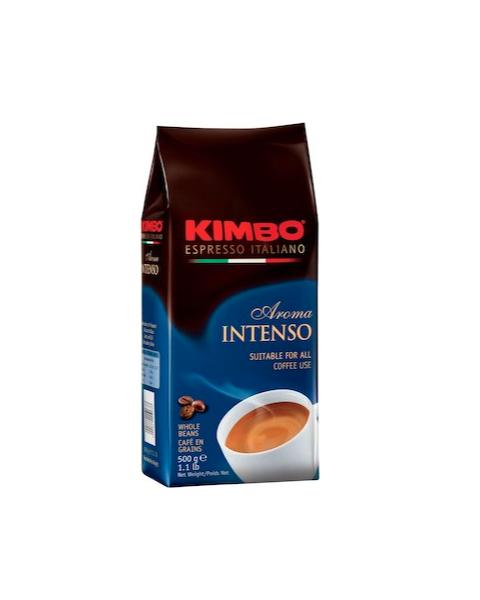 Kimbo Aroma Intenso Roasted Coffee Beans 500 g (COFFEE-KIMBO INTENSO)