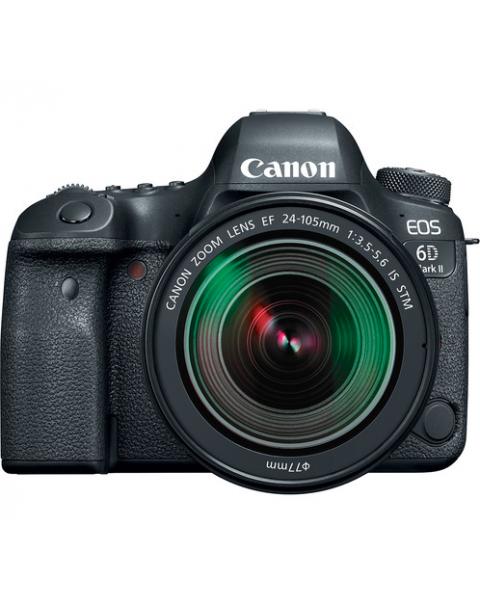 CANON EOS 6D MARK II with EF 24-105mm lens (EOS6DMK2KIT)