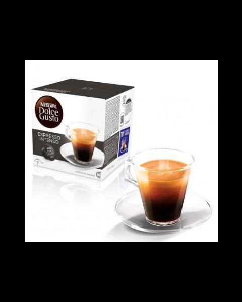 (Espresso Intenso) كبسولات قهوة انتنسو اسبريسو من دولتشي جوستو– ١٦ كبسولة