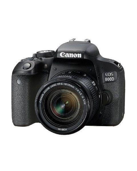 Canon DSLR Camera, CMOS, 24.2 MP (EOS800D) + Bag + Memory Card 16 GB