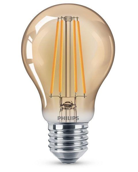 فيليبس مصباح (ليد)  كلاسيكي ذهبي 5.5 واط A60 (PHI-929001941718)