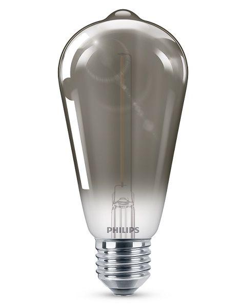 فيليبس مصباح (ليد)  كلاسيكي رصاصي 2.3 واط ST64 (PHI-929002380601)