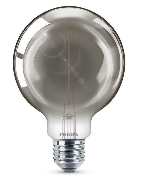 فيليبس مصباح (ليد)  كلاسيكي رصاصي 2.3 واط G93 (PHI-929002380801)