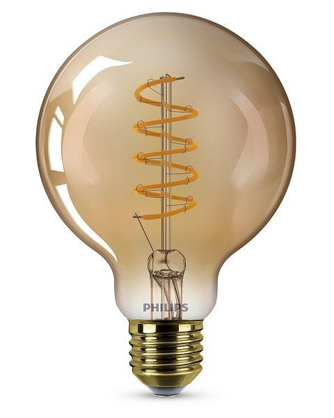 فيليبس مصباح (ليد)  كلاسيكي ذهبي 4 واط ديمر G93 (PHI-929002983001)