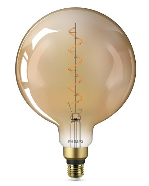 فيليبس مصباح (ليد)  كلاسيكي كبير ذهبي 4.5 واط G200 (PHI-929002983901)