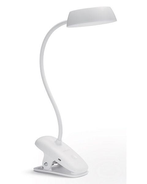فيليبس وحدة انارة مكتبية (Donutclip)  ليد 2.3 واط  لون أبيض (PHI-929003179707)