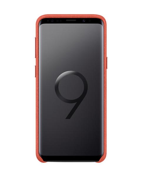 Samsung S9 Star Alcantara Cover Red (EF-XG960AREGWW)