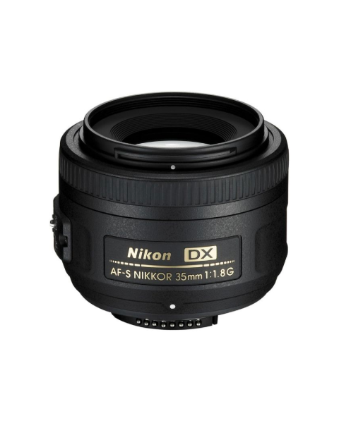 Nikon AF-S DX NIKKOR 35mm f/1.8G Lens for Nikon DSLR Cameras (JAA132DA)