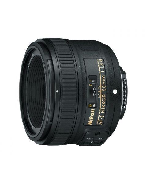 NIKON Fixed AF-S Nikkor 50mm  F/1.8G (JAA015DA)