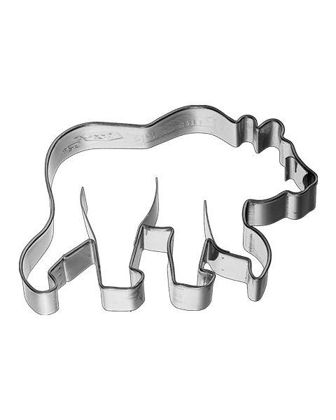 Birkmann Cookie Cutter Bear, stainless steel - 8.5cm (198081)