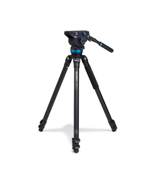 Benro Aluminum Video Tripod & S8 Head (BENRO-A373FBS8)