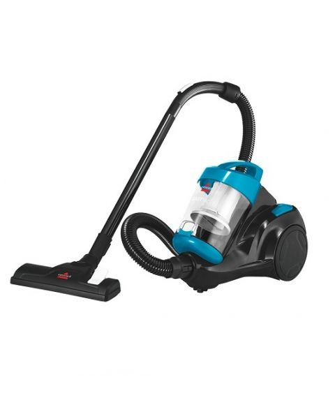 Bissell 1500W Zing Compact Canister Vacuum Cleaner-Sky blue (2155E)