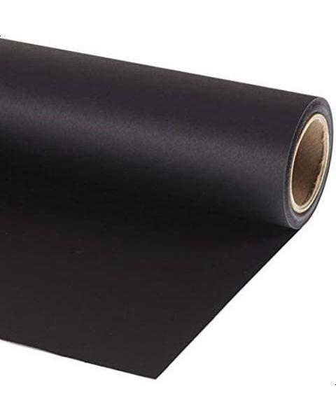 خلفية تصوير  1.35متر×10متر لون أسود (BLACK-44-SML)