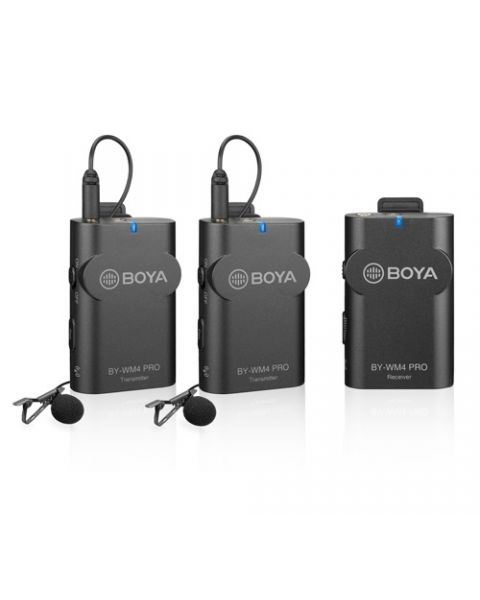 Boya Dual-Channel Digital Wireless Microphone (BY-WM4-PR0-KIT2)