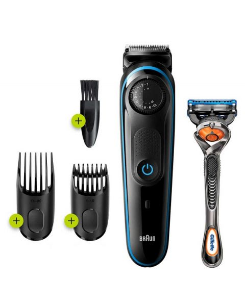 Braun Beard trimmer 3 for Face and Hair 2-in-1 (BT3240)