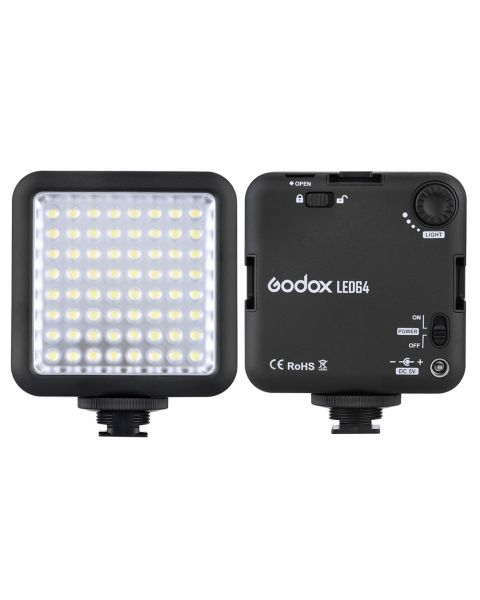 Godox LED64 Video Light 64 LED Lights for Cameras (LD170II)