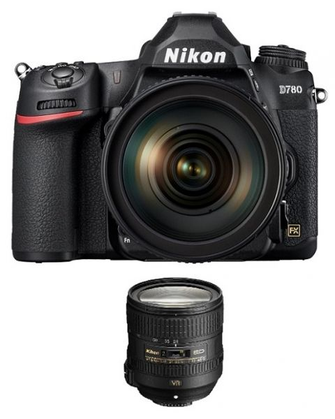 Nikon D780 Camera Body Only (VBA560AM) + Memory Card 64GB + NIKON AF-S 24-85mm f/3.5-4.5G VR Lens