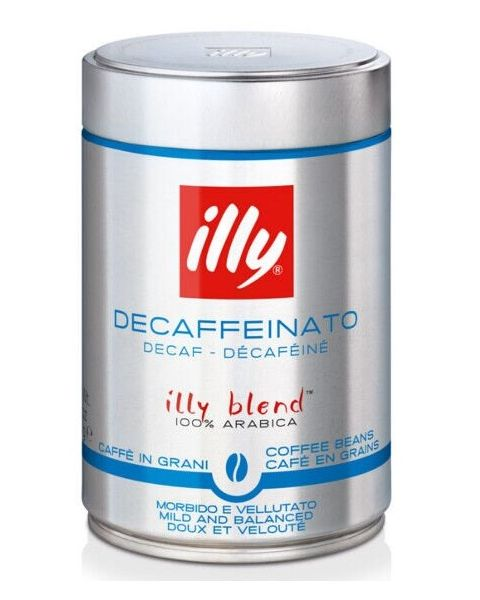 ILLY Whole Bean Decaffeinated Classico Coffee (709)