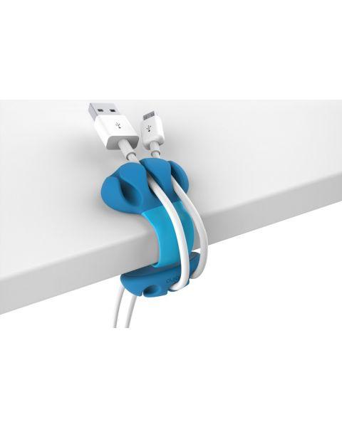 Bobino Desk Cable Clip - Turquoise (DECAC TQ)